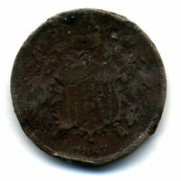 1867 2C PIECE US TWO CENT AMERICAN  LOW MINTAGE KEY DATE US COIN321