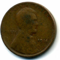 1914 P WHEAT CENT 1 CENT KEY DATE US CIRCULATED ONE LINCOLN  CENT COIN527