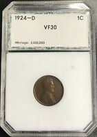 1924-D LINCOLN WHEAT CENT C-864