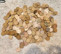 500 WHEAT PENNIES FROM THE 1910S TO 1950S GOOD MIX OF DATES SOME BETTER GRADES