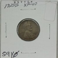 1925-S WHEAT CENT EXTRA FINE