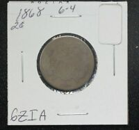 1868 TWO CENT G
