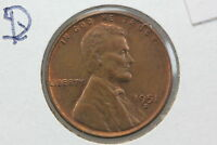 1951-D/S WHEAT CENT AU OVERPUNCHED MINT MARK ERROR