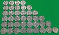 LOT OF 39 UNCIRCULATED 1967 US NICKELS