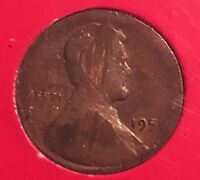 195X LINCOLN CENT  STRUCK   SPLIT PLANCHET ERROR COIN MONTH 1973 FIRST DAY COVER