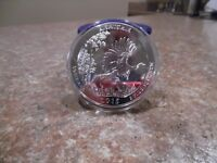 2015 AMERICA THE BEAUTIFUL KISATCHIE 5 OZ .999 FINE SILVER BU ATB
