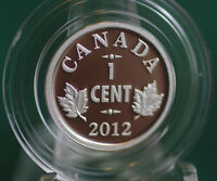2012 CANADA 1 CENT SILVER FAREWELL TO PENNY 3  KING GEORGE V OBV 1920 1936