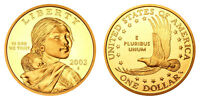 2003 S GEM BU PROOF SACAGAWEA GOLDEN DOLLAR BRILLIANT UNCIRCULATED DCAM COIN PF