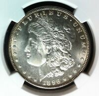 1896 VAM 19 NGC MINT STATE 64 MORGAN SILVER DOLLARGENE L HENRY LEGACY COLLECTION