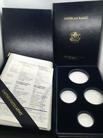1991 W GOLD AMERICAN EAGLE PROOF SET BOX AND COA ONLY