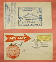CHARLES LINDBERGH SIGNED FIRST STRATOSPHERE FLIGHT WILEY POST ROESSLER