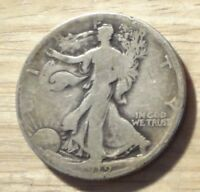 1919 D WALKING LIBERTY HALF DOLLAR   GOOD