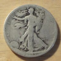 1919 S WALKING LIBERTY HALF DOLLAR   GOOD