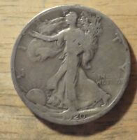 1920 S WALKING LIBERTY HALF DOLLAR   GOOD