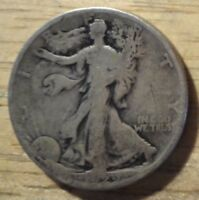 1929 S WALKING LIBERTY HALF DOLLAR   GOOD