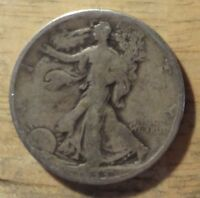 1933 S WALKING LIBERTY HALF DOLLAR   GOOD/VERY GOOD