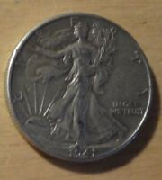 1941 WALKING LIBERTY HALF DOLLAR   CHOICE EXTRA FINE