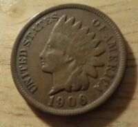 1906 INDIAN HEAD CENT   FINE/VERY FINE