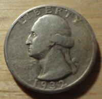 1932 WASHINGTON QUARTER   CHOICE FINE