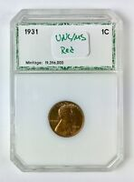 1931 LINCOLN WHEAT 1 CENT  UNCIRCULATED