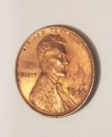 1944 LINCOLN WHEAT BACK CARTRIDGE CASE CENT PENNY LOOKS MINT STATE RED YOU GRADE