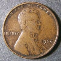 1924 D LINCOLN WHEAT CENT 1C SHIPS FREE