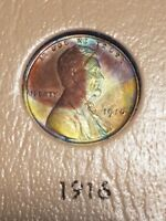 1916 LINCOLN CENT CH UNCIRCULATED BROWN