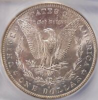 1883-O CERTIFIED ICG MINT STATE 63 UNCIRCULATED MORGAN DOLLAR 90 SILVER COIN 298