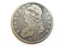 1813 CAPPED BUST HALF DOLLAR - 2358