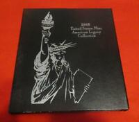 2005 U.S. MINT AMERICAN LEGACY COLLECTION PROOF SET.  2 SILV