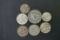 AUSTRALIA MIX DATE AND CONDITION OF SILVER COINS WTS 19.70G