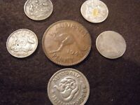 COLLECTION OF 6 VINTAGE AUSTRALIAN COINS