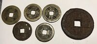 CHINA ANCIENT COINS? UNIDENTIFIED DIFFERENT DINASTIES