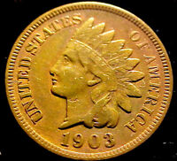 1903 INDIAN HEAD PENNY 1C  A   COIN  50YJ