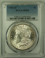 1903-O MORGAN SILVER DOLLAR $1 COIN PCGS MINT STATE 63 RJS