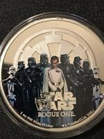 2017 SILVER STAR WARS ROGUE ONE   THE EMPIRE   CAPSULE ONLY