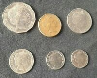 6 AUSTRALIAN COINS 2004 2006 5 CENTS 10 CENT 20 50 & 1 DOLLA