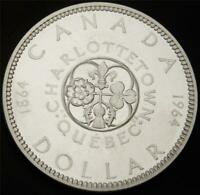 1964 CANADIAN SILVER DOLLAR   UNCIRCULATED PROOF LIKE