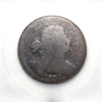 1807 DRAPED BUST LARGE CENT, LARGE7/6 ICG AG03 DETAILS
