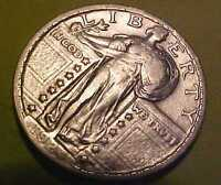 1924-P STANDING QUARTER GEM NEARLY UNCIRCULATED SHARP FULL DATE MAKE A OFFER