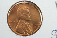 1949-S/S WHEAT CENT REPUNCHED MINT MARK ERROR