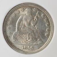 1856 SEATED LIBERTY DIME - SMALL DATE