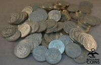 LOT OF 101 COINS   1960S MEXICAN SILVER  .100  PESOS   ASW 5