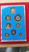 1972 COINAGE OF GREAT BRITAIN & NORTHERN IRELAND 7 COIN PROO