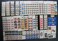 DRBOBSTAMPS US BOOKLETS POSTAGE COLLECTION FACE $613