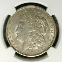 1921-D VAM 1B1 NGC AU 55 MORGAN SILVER DOLLARGENE L HENRY LEGACY COLLECTION