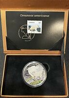 2015 ROYAL CANADIAN MINT BABY ANIMALS MOUNTAIN GOAT $20 .9999 SILVER COIN STAMP