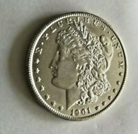 1901 O MORGAN SILVER DOLLAR UNGRADED   COIN SEE PICTURES FOR CONDITION