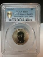 2015 P PCGS PF 69 REVERSE PROOF HARRY TRUMAN COINS CHRONICLE