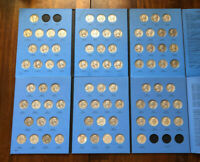 ALMOST COMPLETE 81PC WASHINGTON SILVER QUARTERS COLLECTION